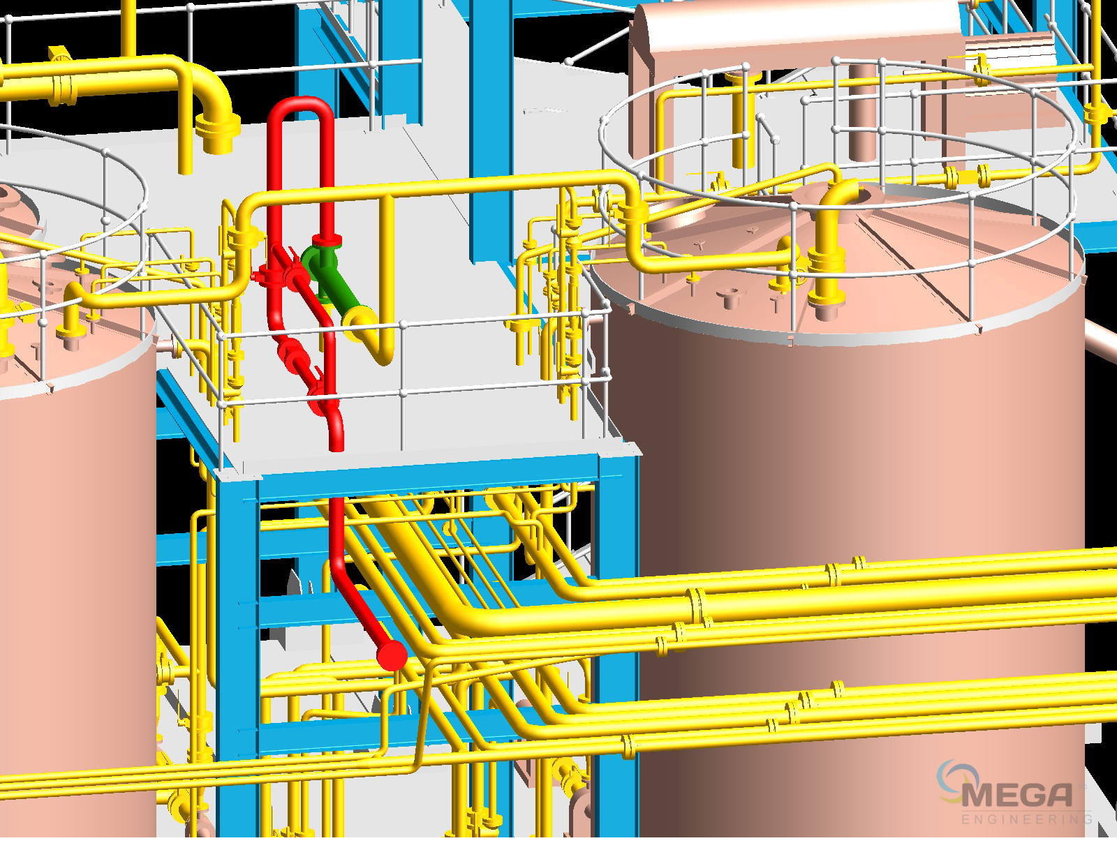 Engineering Services Piping Design Instrumentation Megatc Layout Calculation Evaporation Plant Manufacturers